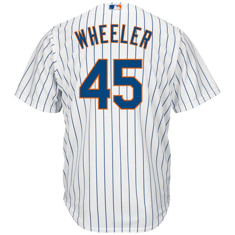 マジェスティック Majestic メンズ トップス【New York Mets Zack Wheeler Adult Cool Base Replica Jersey】White