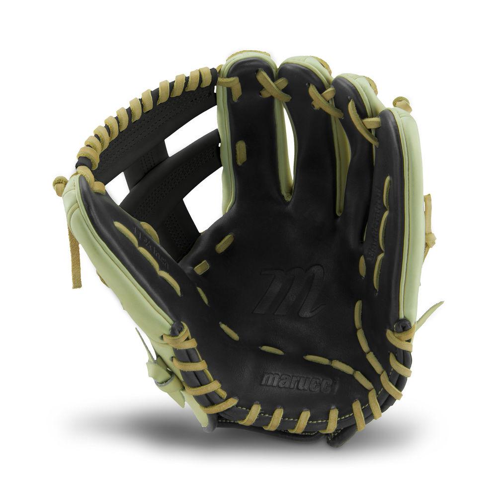 マルッチ Marucci ユニセックス 野球 グローブ【11.75 Inch Baseball Glove】Black