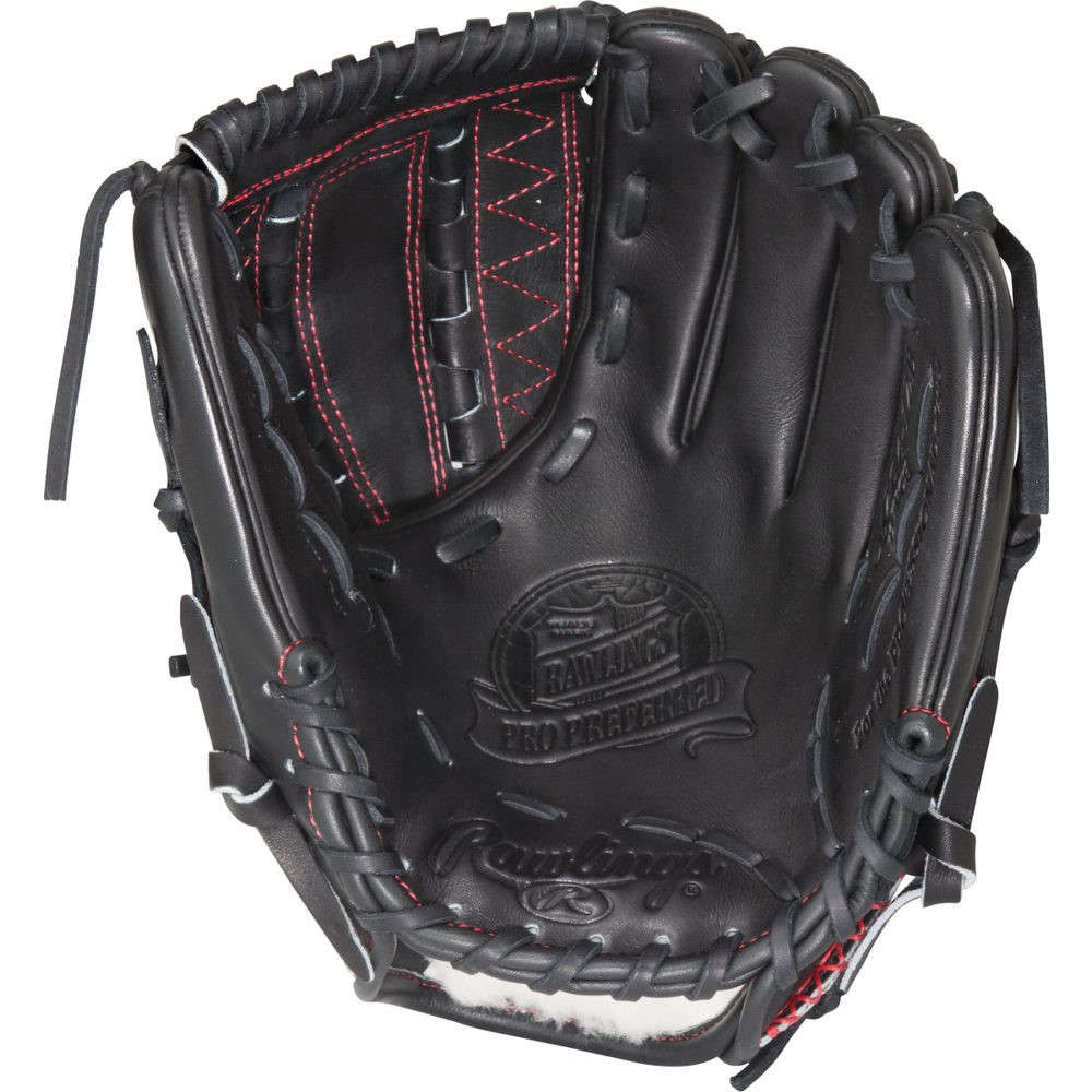 ローリングス Rawlings ユニセックス 野球 グローブ【Player Preferred 13 Inch Right Hand Throw Softball Glove】Black/Red