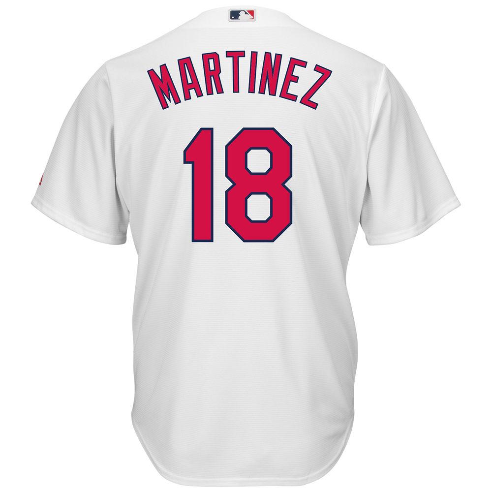 マジェスティック Majestic メンズ トップス【St. Louis Cardinals Adult Carlos Martinez Cool Base Jersey】White