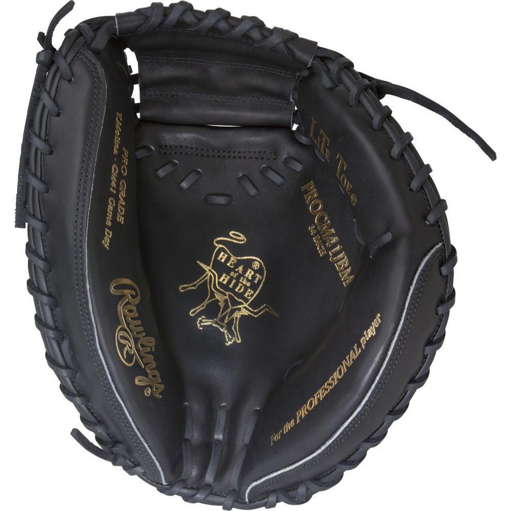 ローリングス Rawlings ユニセックス 野球 グローブ【Heart of the Hide Series 34 Inch Right Hand Throw Catchers Mitt】Black