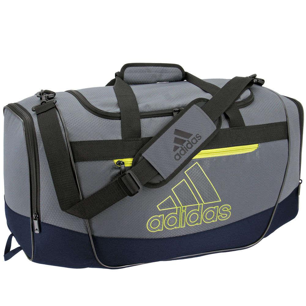 アディダス adidas ユニセックス バッグ ボストンバッグ・ダッフルバッグ【Defender III Medium Duffel Bag】Grey/Blue