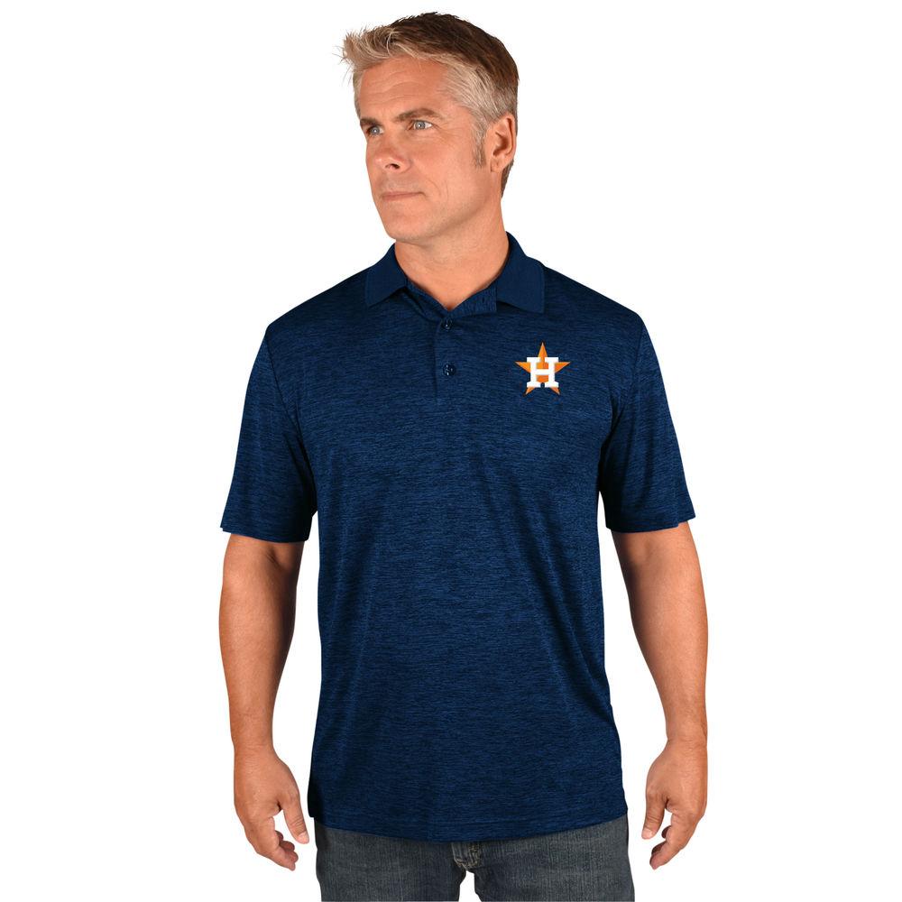 マジェスティック Majestic メンズ トップス ポロシャツ【Houston Astros Big Logo Polo (Big & Tall)】Navy