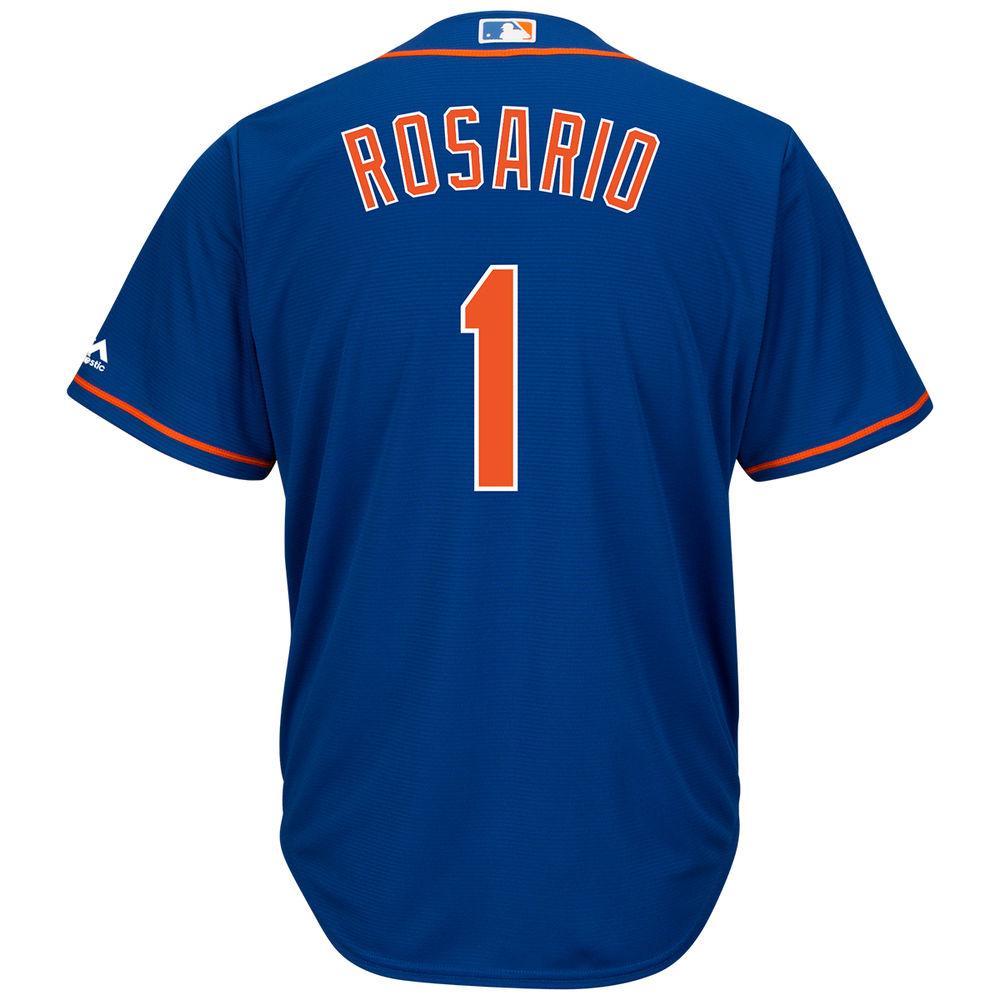 マジェスティック Majestic メンズ トップス【New York Mets Adult Amed Rosario Cool Base Jersey】Royal