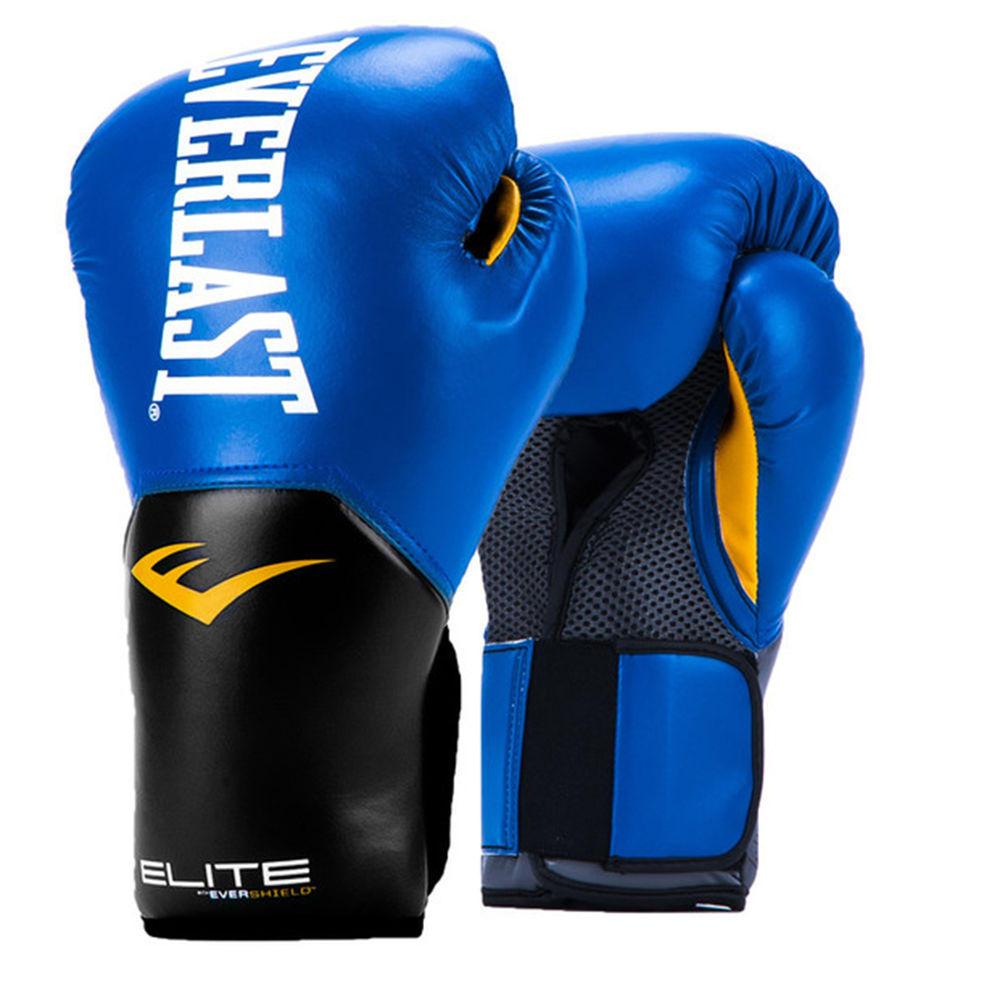 エバーラスト Everlast ユニセックス グローブ【Pro Style 12oz Boxing Gloves】Blue