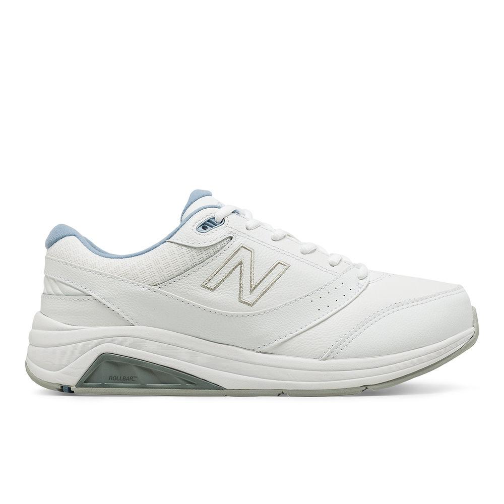 Shoe】White/Blue ニューバランス レディース ランニング・ウォーキング Balance v3 シューズ・靴【928 Walking New