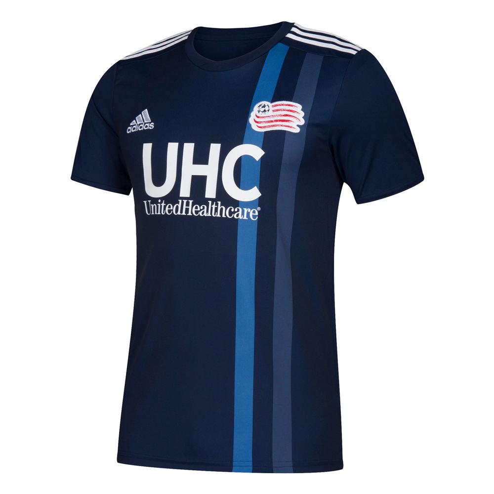 アディダス adidas メンズ サッカー トップス【New England Revolution 2018 Short Sleeve Home Jersey】Navy