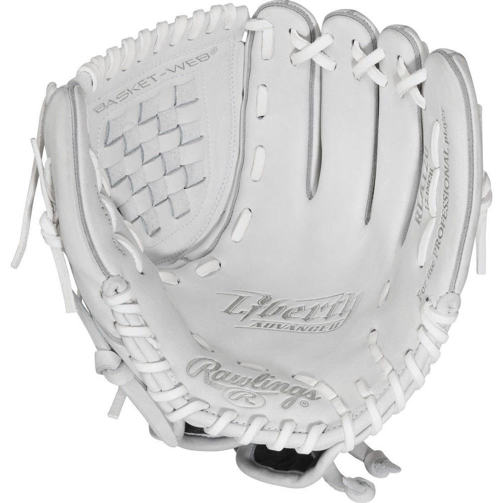 ローリングス Rawlings ユニセックス 野球 グローブ【Liberty Advanced 12 Inch Right Hand Throw Softball Glove】White