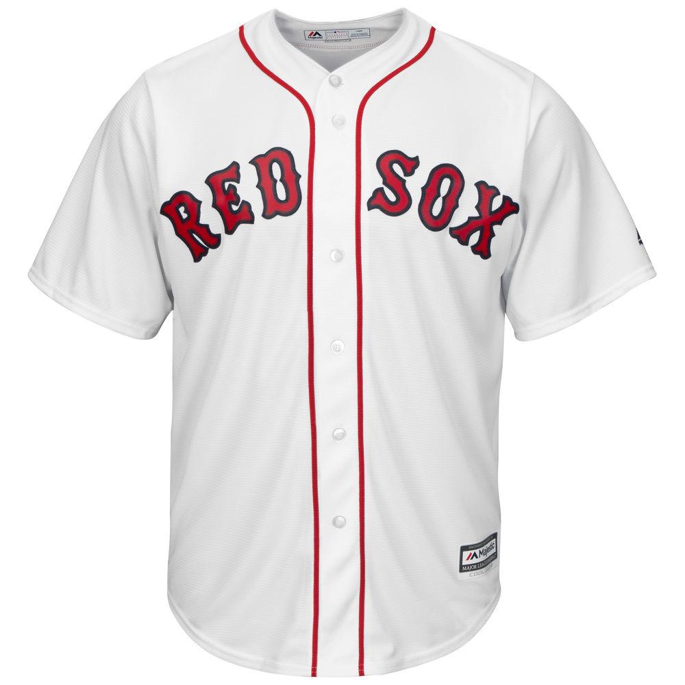 マジェスティック Majestic メンズ トップス【Boston Red Sox Adult Cool Base Replica Jersey】White