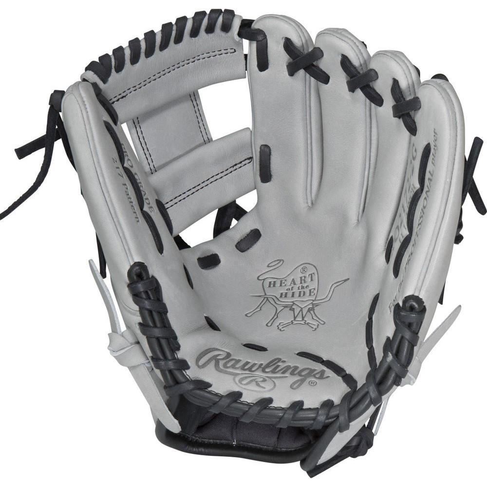 2019新作モデル ローリングス Rawlings ユニセックス 野球 グローブ Inch【Heart of Baseball the the Hide Series 11.25 Inch Right Hand Throw Baseball Glove】Grey, オオサワファーム:f6e045f6 --- wedding-soramame.yutaka-na-jinsei.com