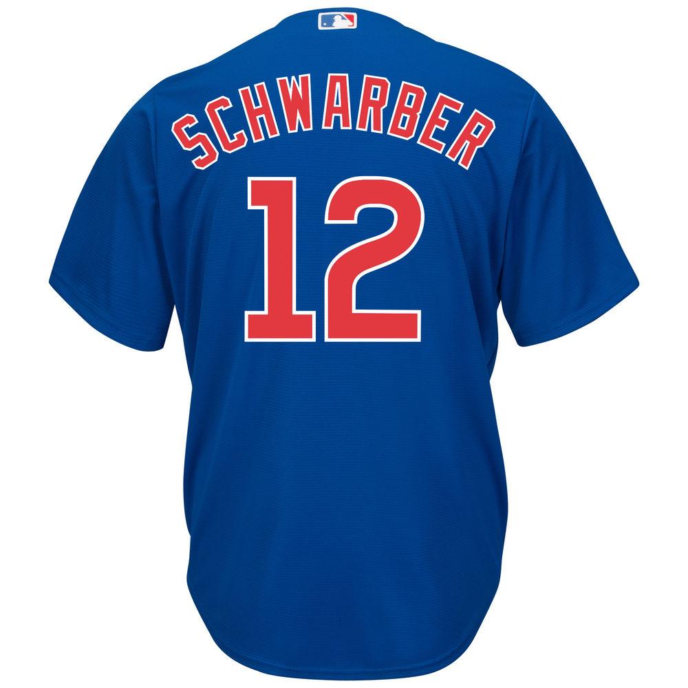 マジェスティック Majestic メンズ トップス【Chicago Cubs Adult Kyle Schwarber Alternate Jersey】