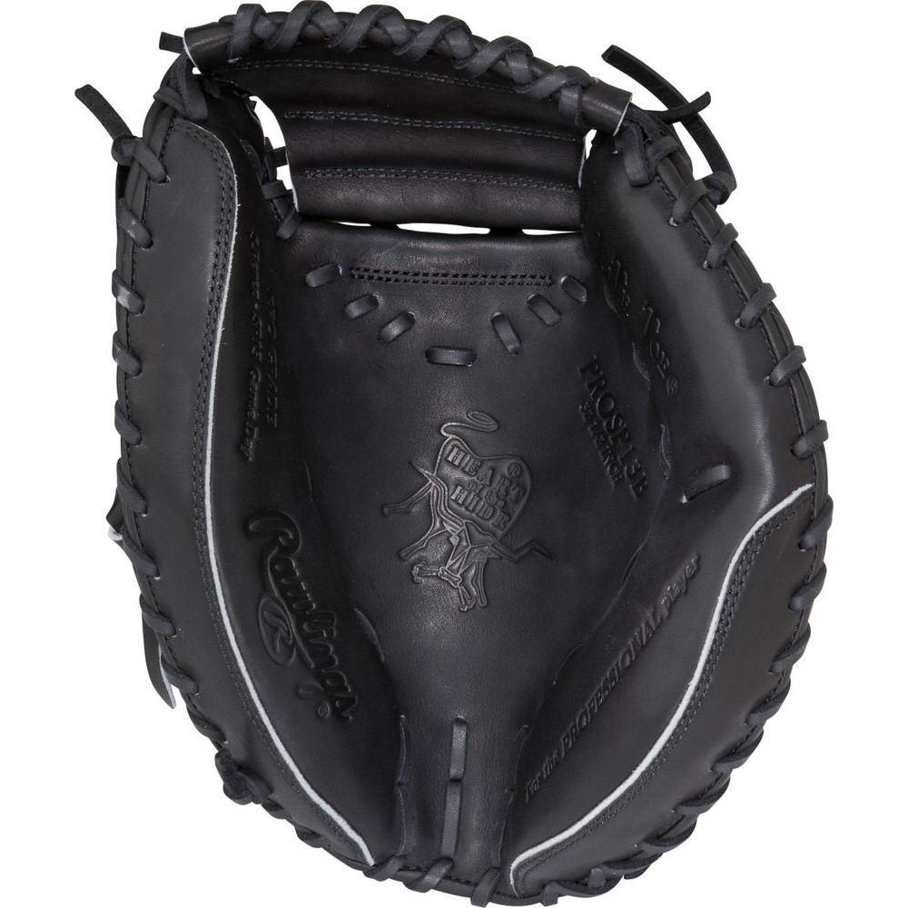 ローリングス Rawlings ユニセックス 野球 グローブ【Heart of the Hide Series 32.5 Inch Right Hand Throw Catchers Mitt】Black