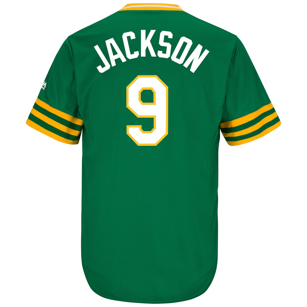 マジェスティック Majestic メンズ トップス【Oakland Athletics Adult Reggie Jackson Cooperstown Collection Jersey】