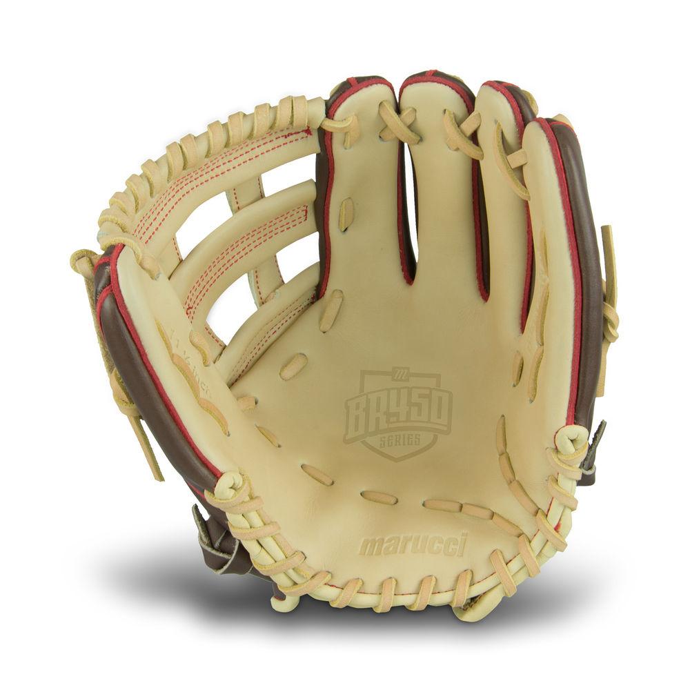 マルッチ ユニセックス 野球 グローブ Brown 【サイズ交換無料】 マルッチ Marucci ユニセックス 野球 グローブ【BR450 11.5 Inch Baseball Glove】Brown