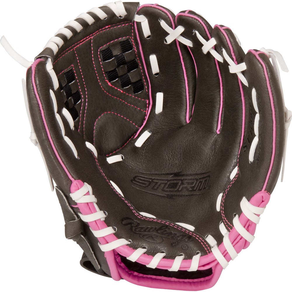 ローリングス Rawlings ユニセックス 野球 グローブ【Storm Series 10 Inch Right Hand Throw Baseball Glove】Brown/Pink