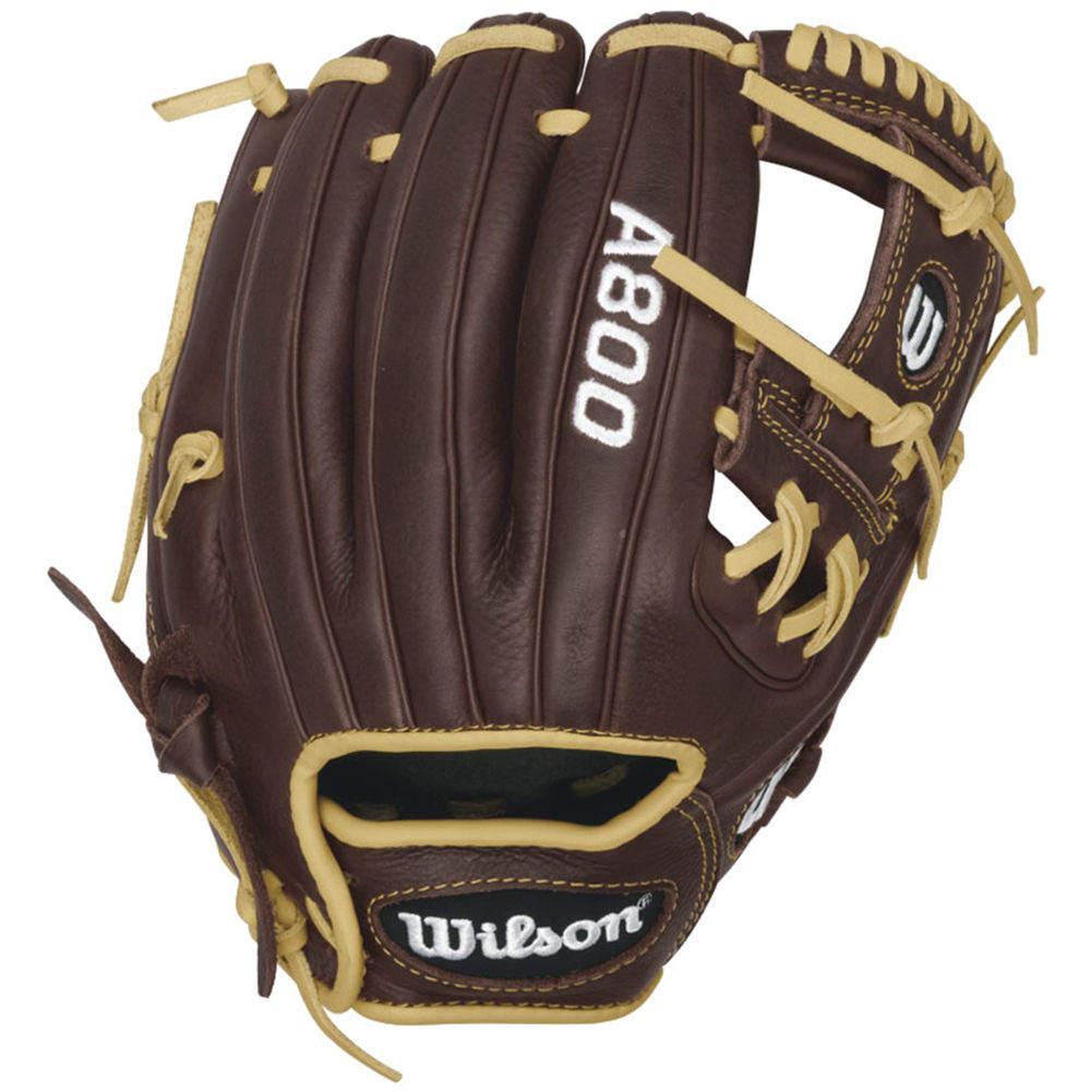 ウィルソン Wilson ユニセックス 野球 グローブ【A800 11.5 Inch Pedroia Fit Right Hand Throw Baseball Glove】