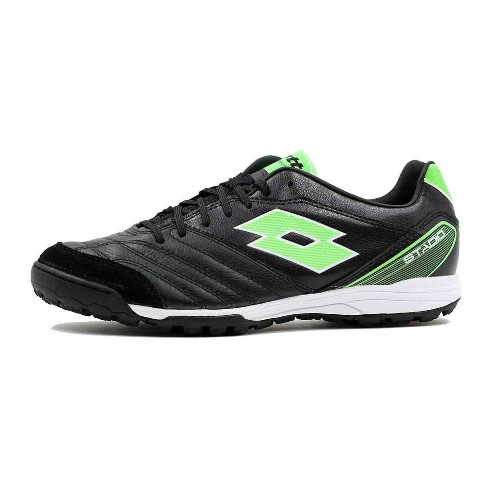 ロット Lotto メンズ サッカー シューズ・靴【Stadio 300 TF Soccer Cleat】Black/Green