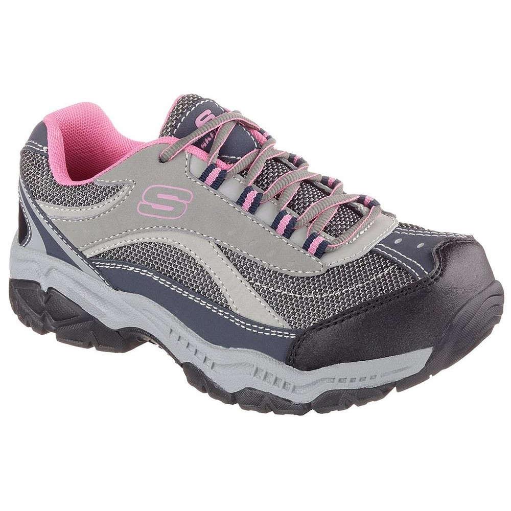 スケッチャーズ Skechers レディース シューズ・靴 スニーカー【Doyline Steel Toe Shoe】Grey