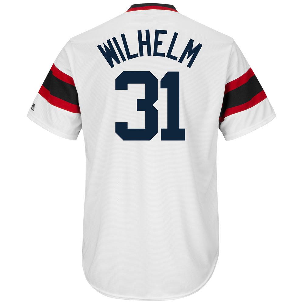 マジェスティック Majestic メンズ トップス【Chicago White Sox Adult Hoyt Wilhelm Cooperstown Collection Cool Base Jersey】White