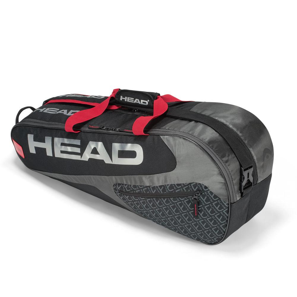 ヘッド Head ユニセックス テニス【Elite 6R Combi Racquet Bag】Black