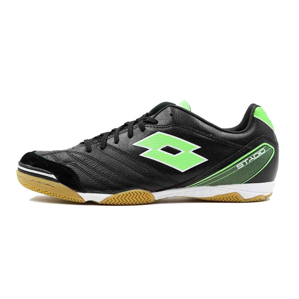 ロット Lotto メンズ サッカー シューズ・靴【Stadio 300 ID Soccer Cleat】Black/Green