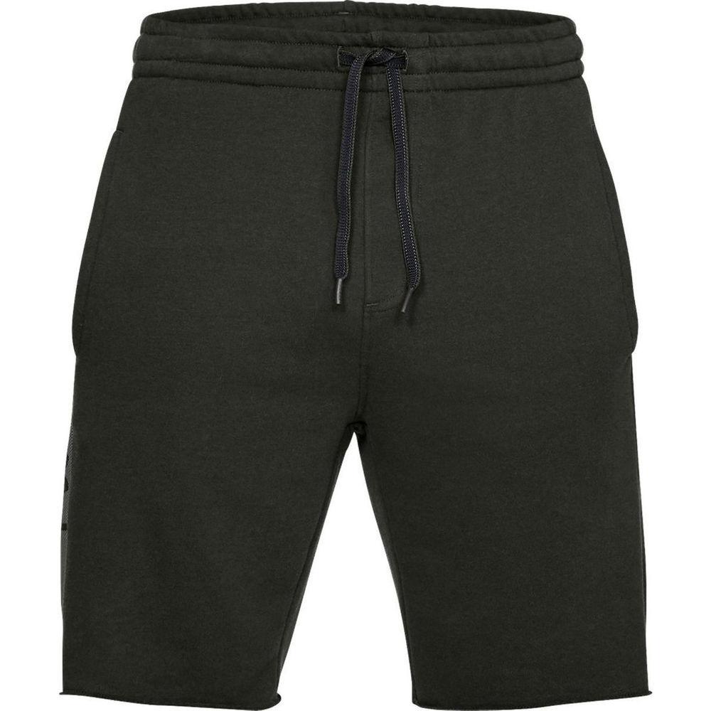 アンダーアーマー Under Armour メンズ フィットネス・トレーニング ボトムス・パンツ【EZ Knit Short】Dark Green