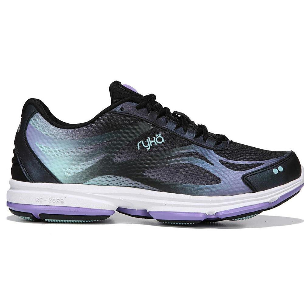 ライカ Ryka レディース ランニング・ウォーキング シューズ・靴【Devotion Plus 2 Wide Width Walking Shoe】Purple/Black