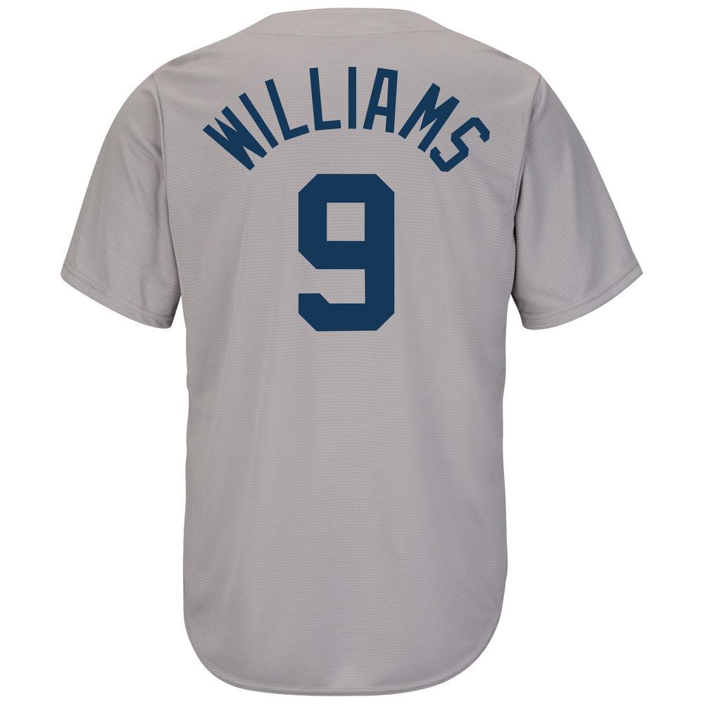 マジェスティック Majestic メンズ トップス【Boston Red Sox Adult Ted Williams Cooperstown Collection Jersey】