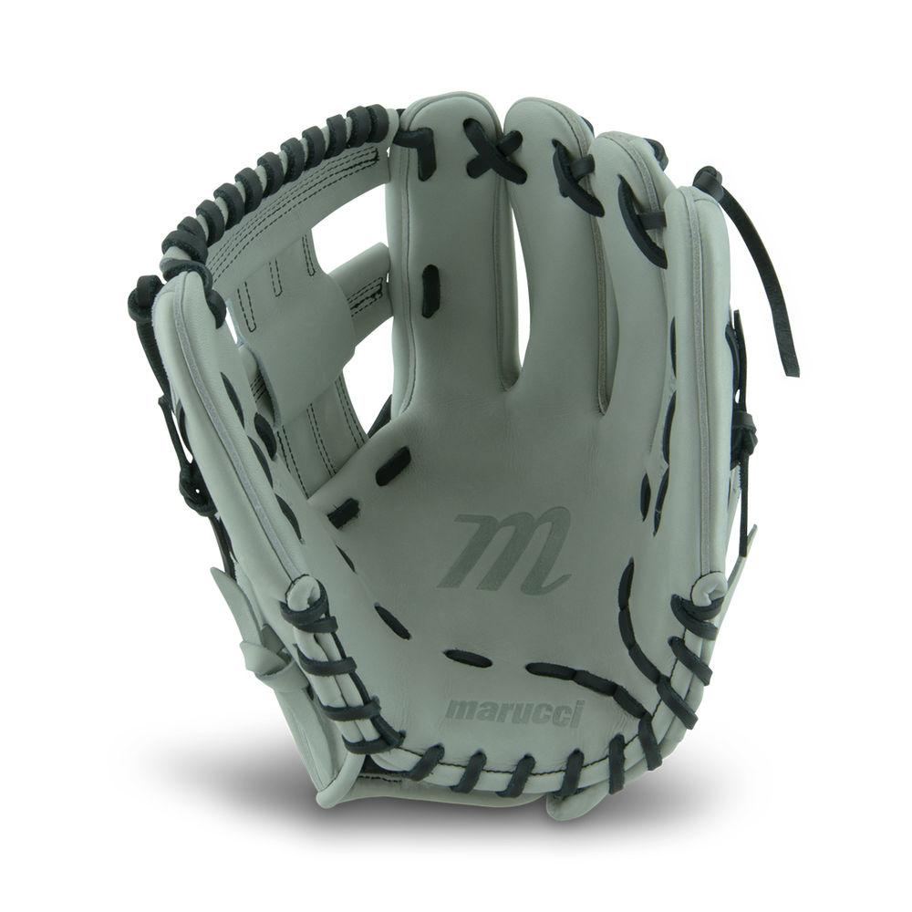 マルッチ Marucci ユニセックス 野球 グローブ【11.75 Inch Adult Softball Glove】Grey/Black