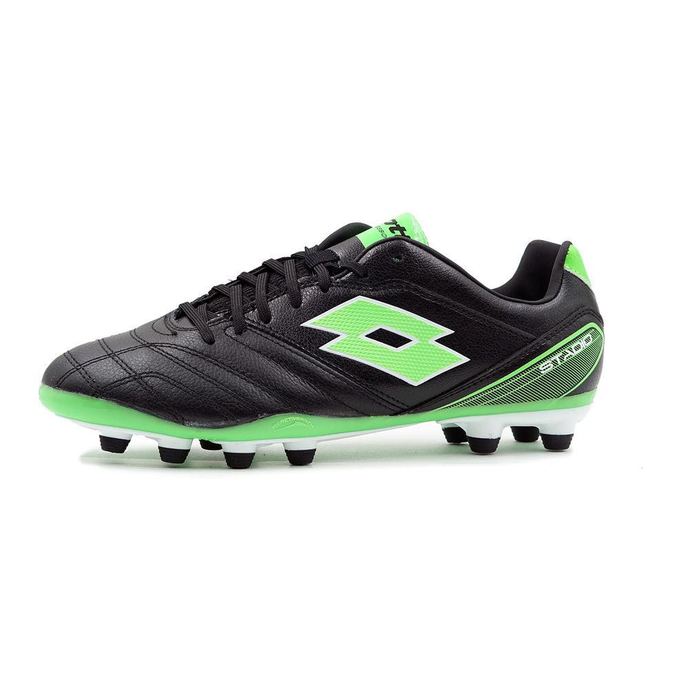 ロット Lotto メンズ サッカー シューズ・靴【Stadio 300 FG Soccer Cleat】Black/Green