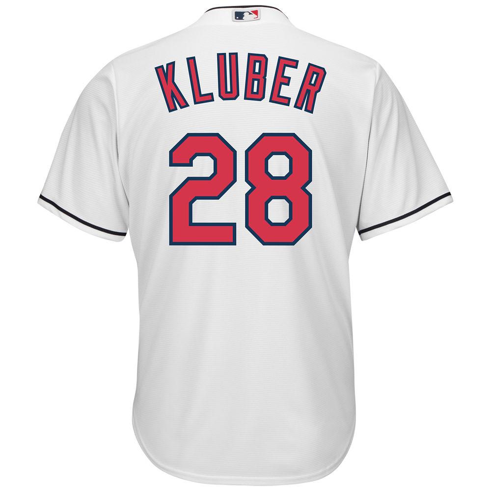 マジェスティック Majestic メンズ トップス【Cleveland Indians Adult Corey Kluber Cool Base Jersey】White