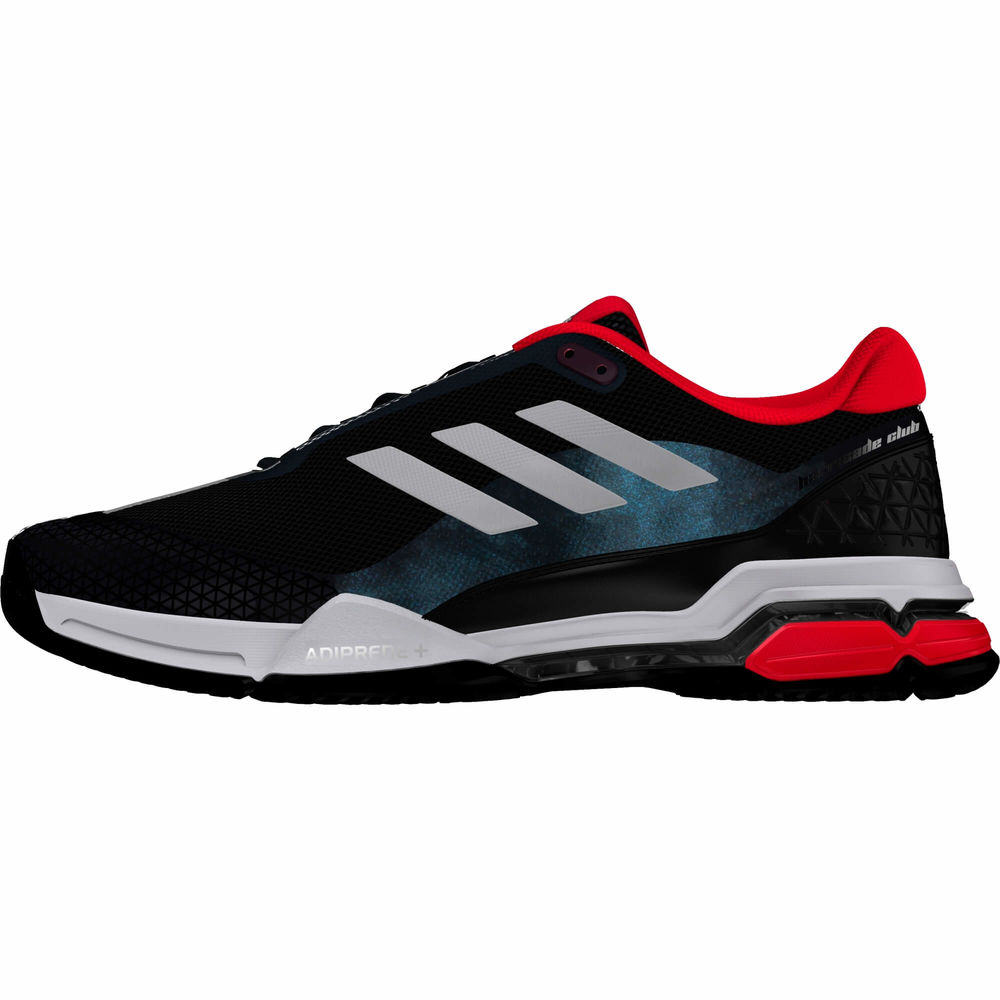 アディダス adidas メンズ テニス シューズ・靴【Barricade Club Tennis Shoes】Black/White/Silver