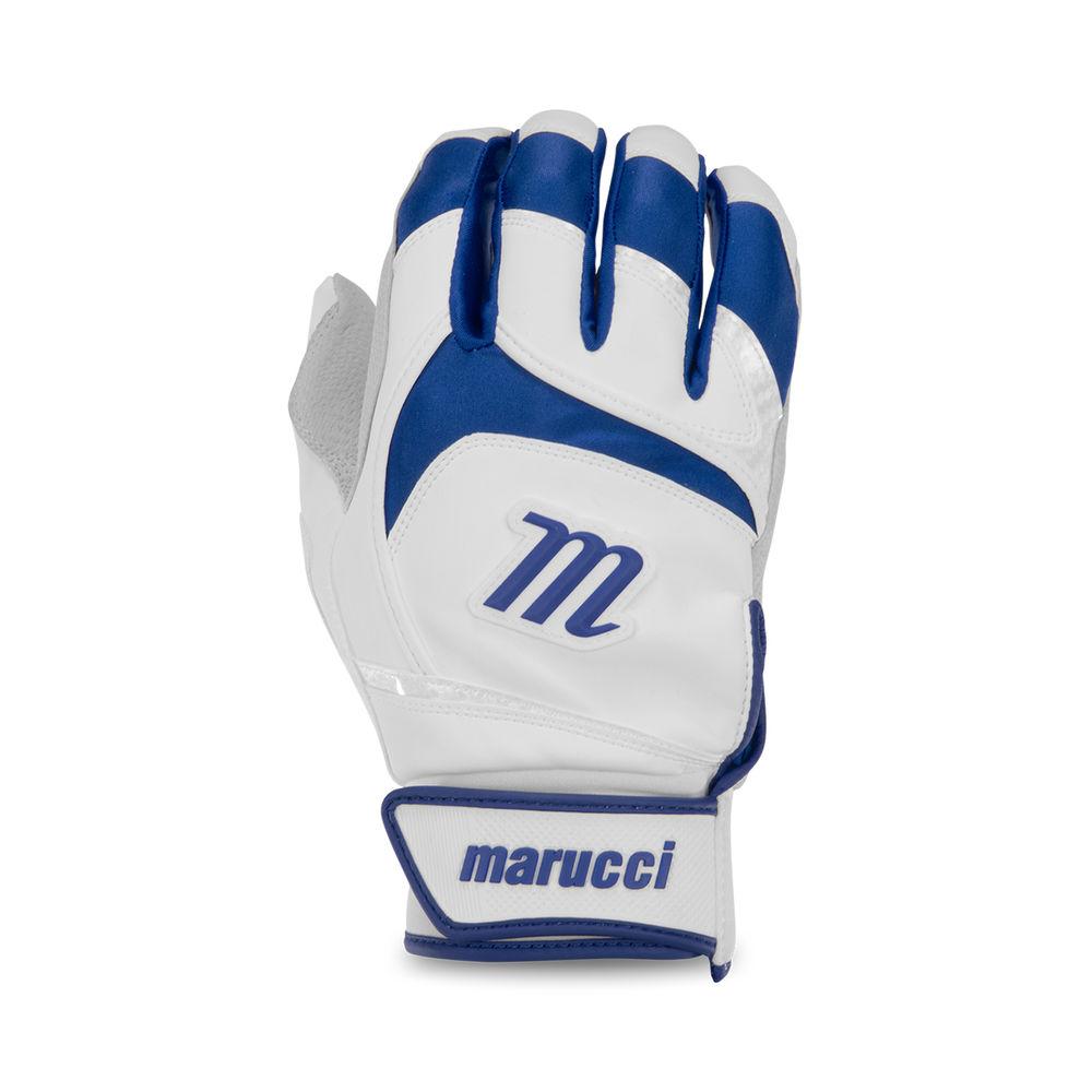 マルッチ Marucci ユニセックス 野球 グローブ【Adult Signature Series Baseball Batting Gloves】White/Navy