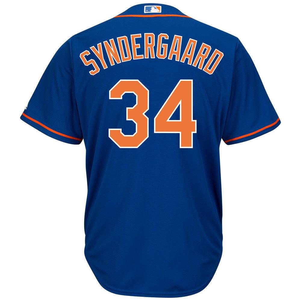 マジェスティック Majestic メンズ トップス【New York Mets Adult Noah Syndergaard Cool Base Jersey】White