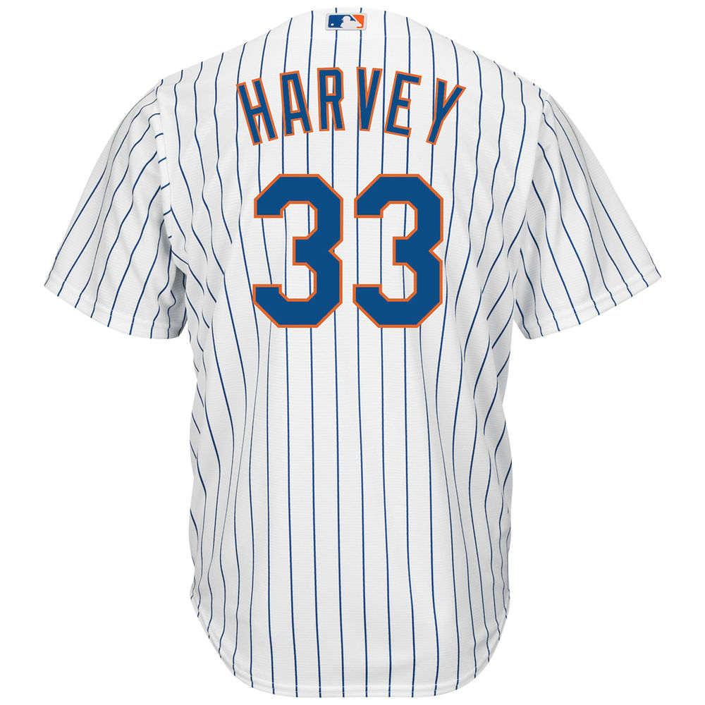 マジェスティック Majestic メンズ トップス【New York Mets Matt Harvey Adult Cool Base Replica Jersey】White