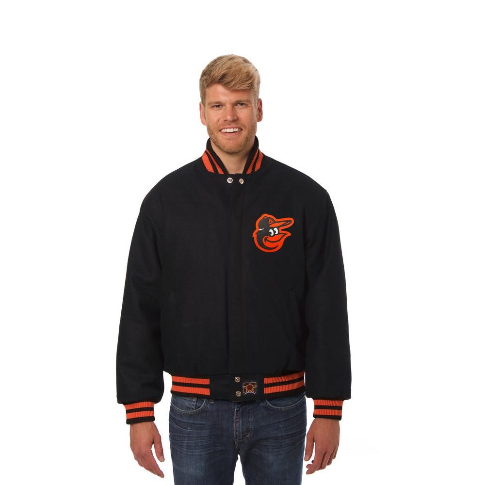 JH デザイン JH Design メンズ アウター ジャケット【Baltimore Orioles Adult Wool Jacket】Black