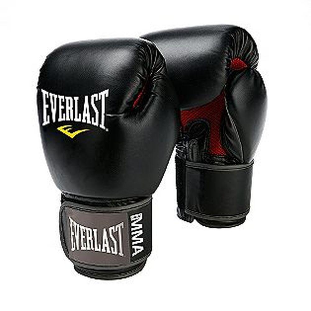 エバーラスト Everlast ユニセックス グローブ【Pro Style Muay Thai Gloves】Black