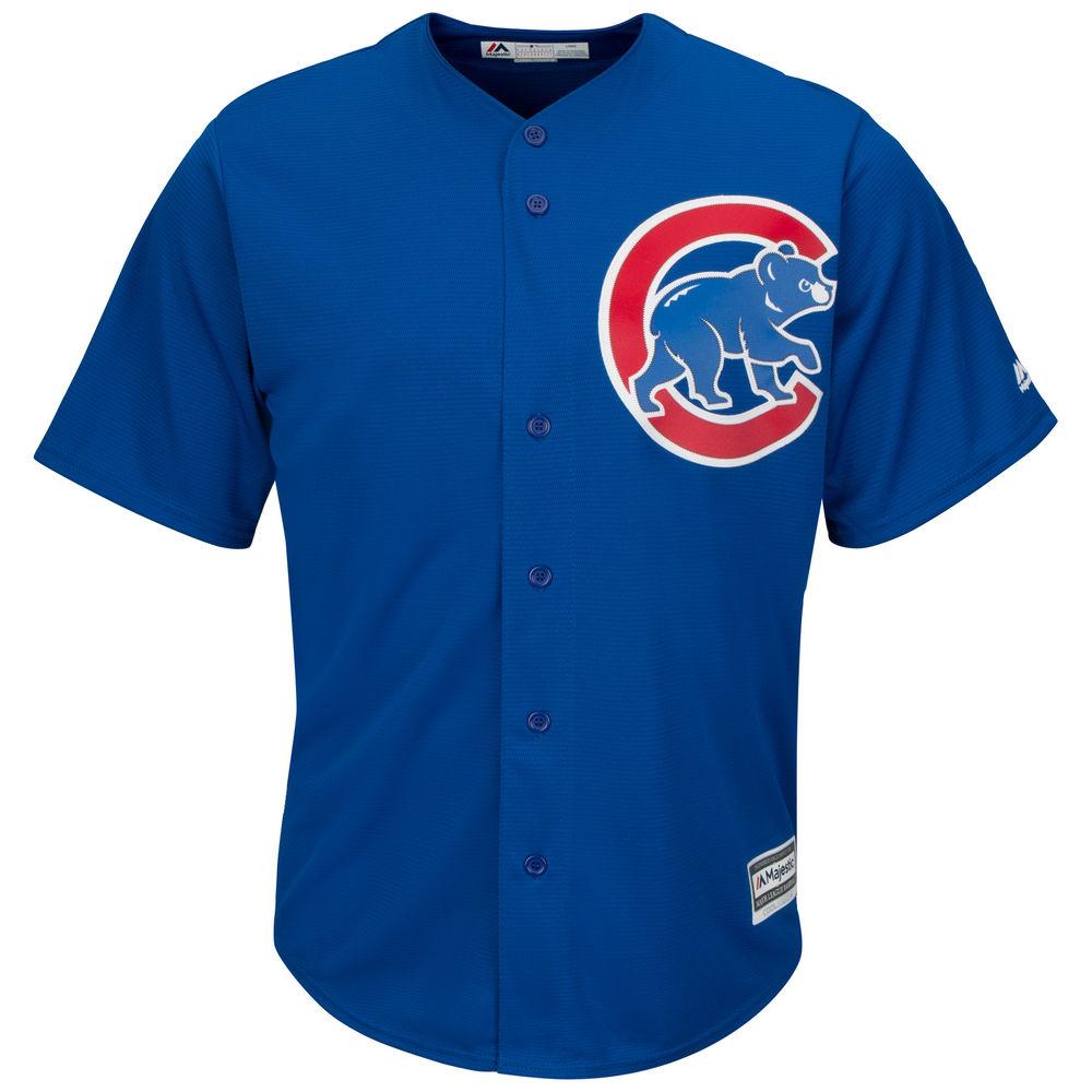 マジェスティック Majestic メンズ トップス【Chicago Cubs Adult Cool Base Replica Jersey】Royal