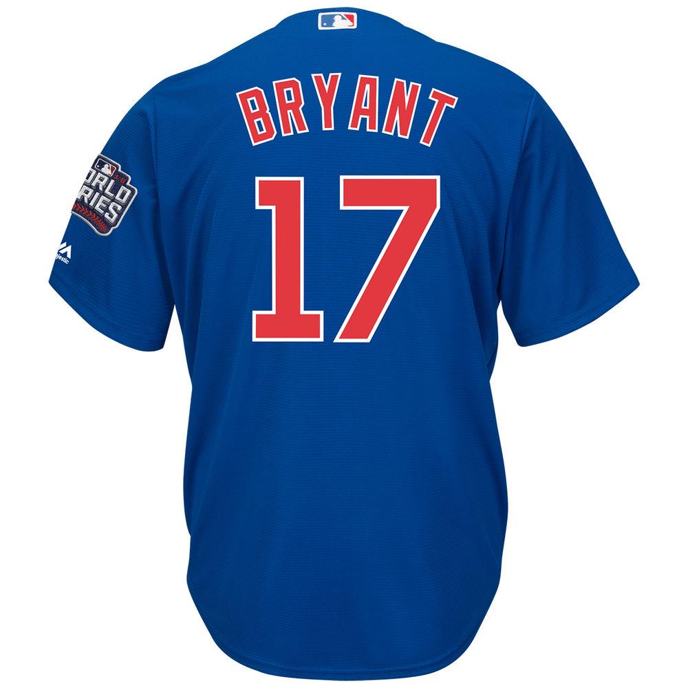 マジェスティック Majestic メンズ トップス【Chicago Cubs Adult Kris Bryant World Series Cool Base Jersey】Royal