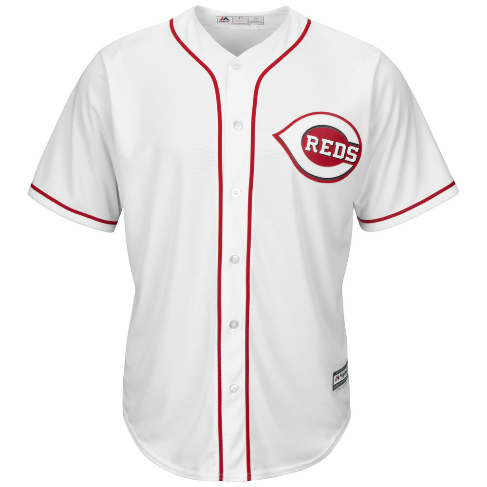 マジェスティック Majestic メンズ トップス【Cincinnati Reds Adult Cool Base Replica Jersey】White