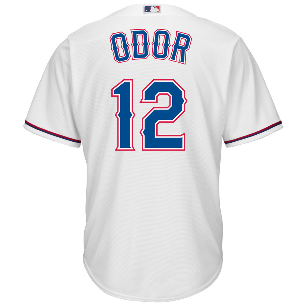 マジェスティック Majestic メンズ トップス【Texas Rangers Adult Rougned Odor Cool Base Jersey】White