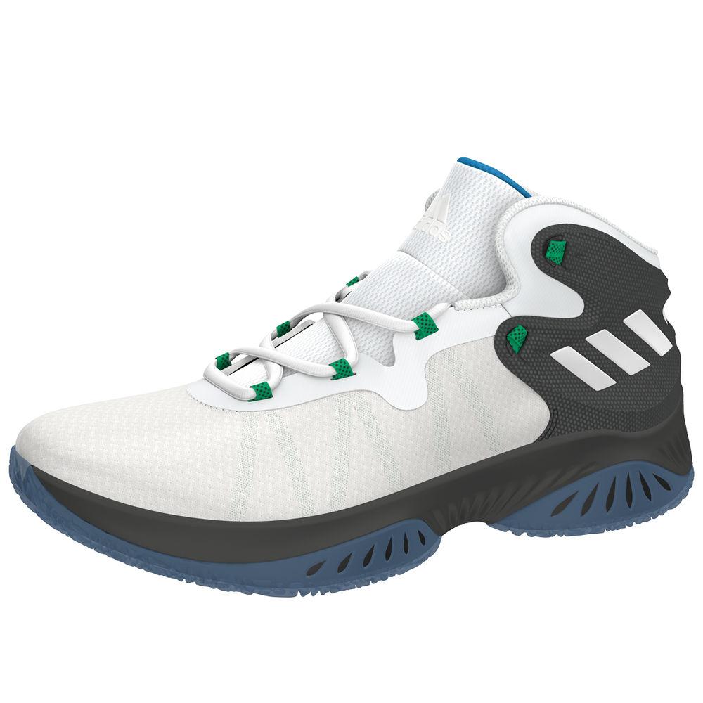 アディダス adidas メンズ バスケットボール シューズ・靴【Explosive Bounce Basketball Shoe】Black/White