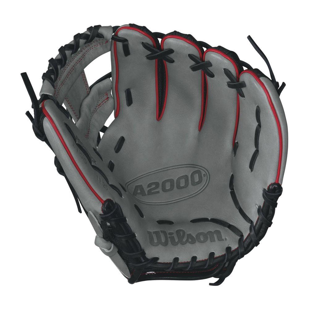 ウィルソン Wilson ユニセックス 野球 グローブ【A2000 Baseball Glove】White/Black