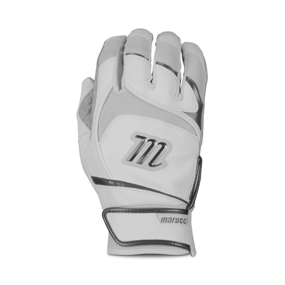 マルッチ Marucci ユニセックス 野球 グローブ【Adult Signature Pittards Batting Gloves】White