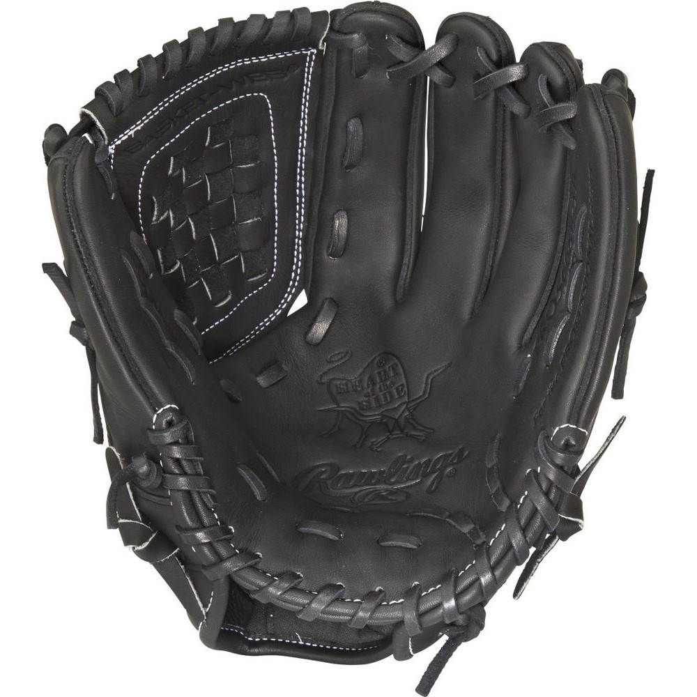 ローリングス Rawlings ユニセックス 野球 グローブ【Heart of the Hide Dual Core Series 12 Inch Right Hand Throw Baseball Glove】Black