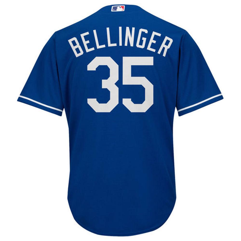 マジェスティック Majestic メンズ トップス【Los Angeles Dodgers Adult Cody Bellinger Cool Base Jersey】Royal