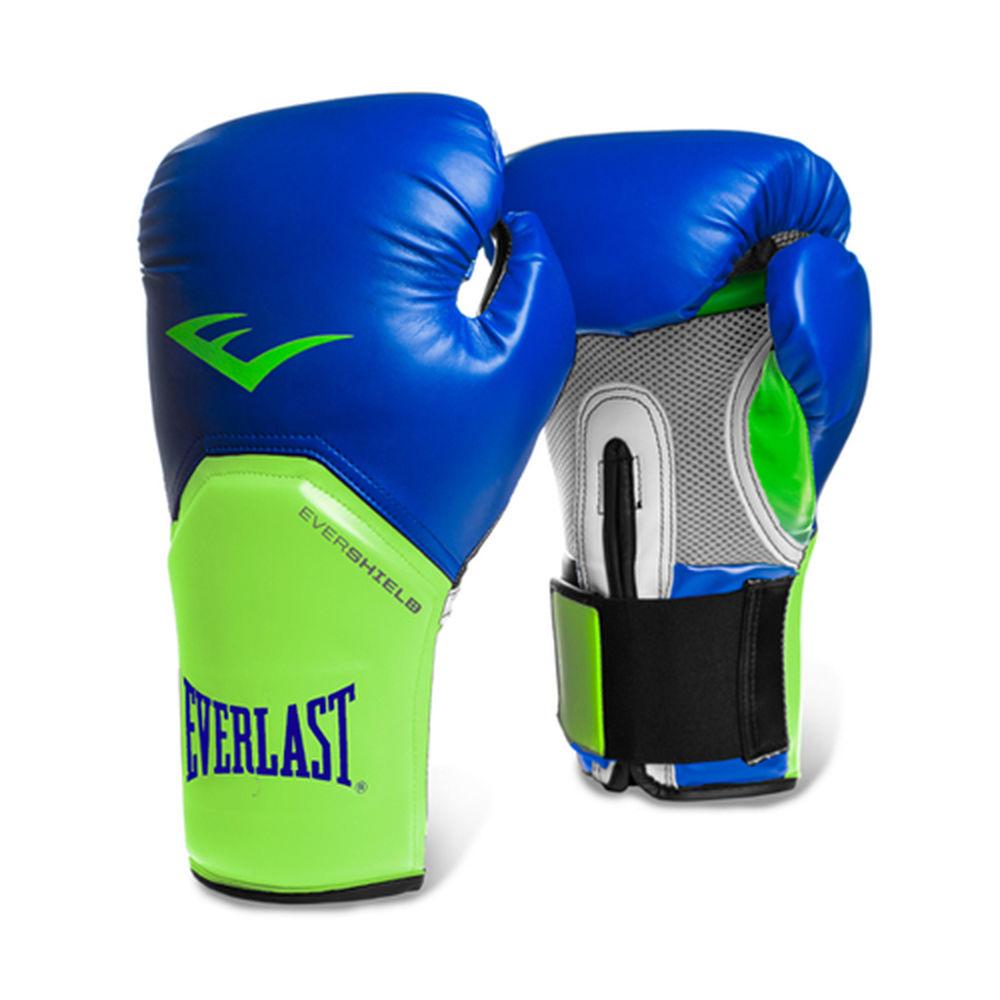 エバーラスト Everlast ユニセックス グローブ【14-oz Pro Style Boxing Gloves Blue/Green】