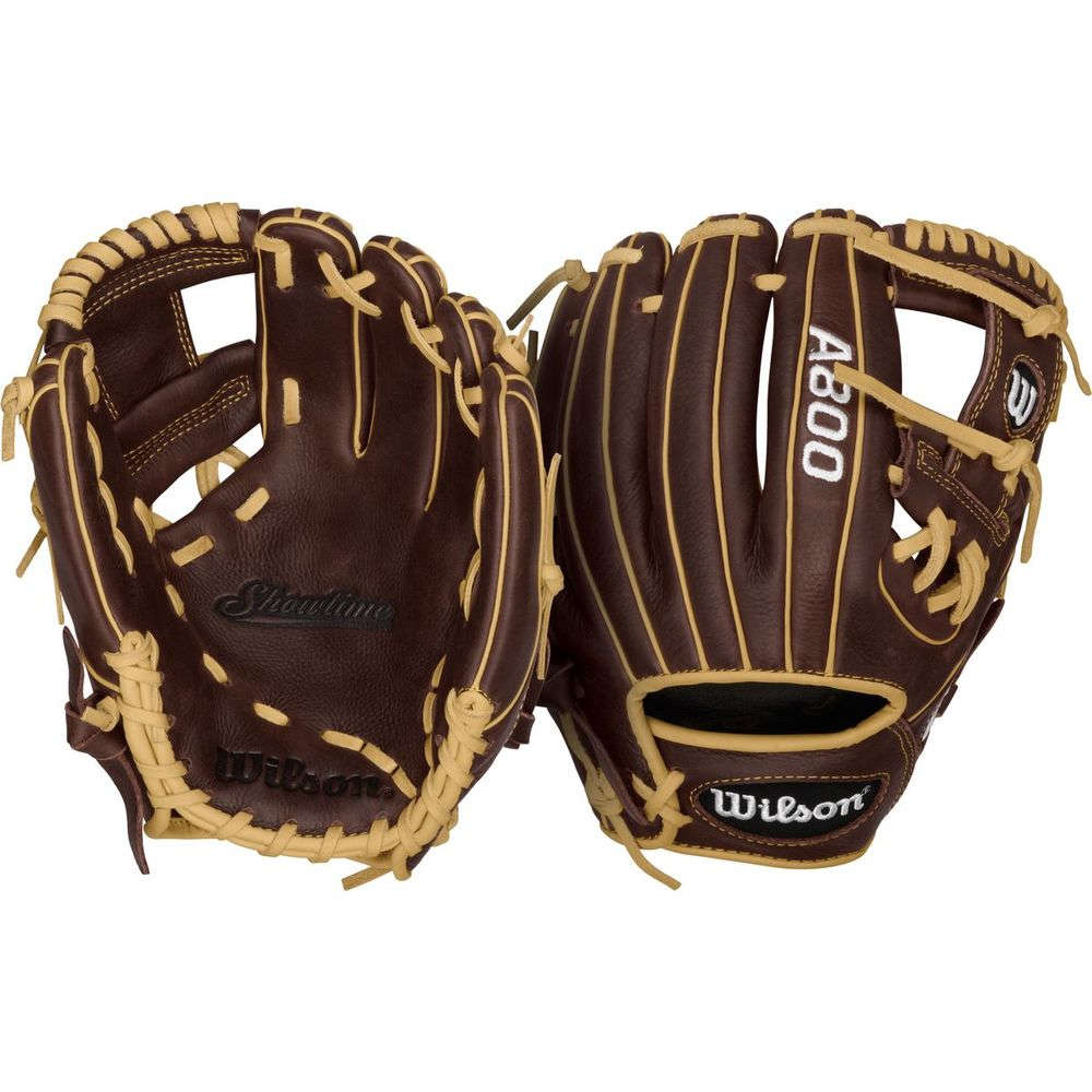ウィルソン Wilson ユニセックス 野球 グローブ【Showtime A800 11.5 Inch Right Hand Throw Baseball Glove】