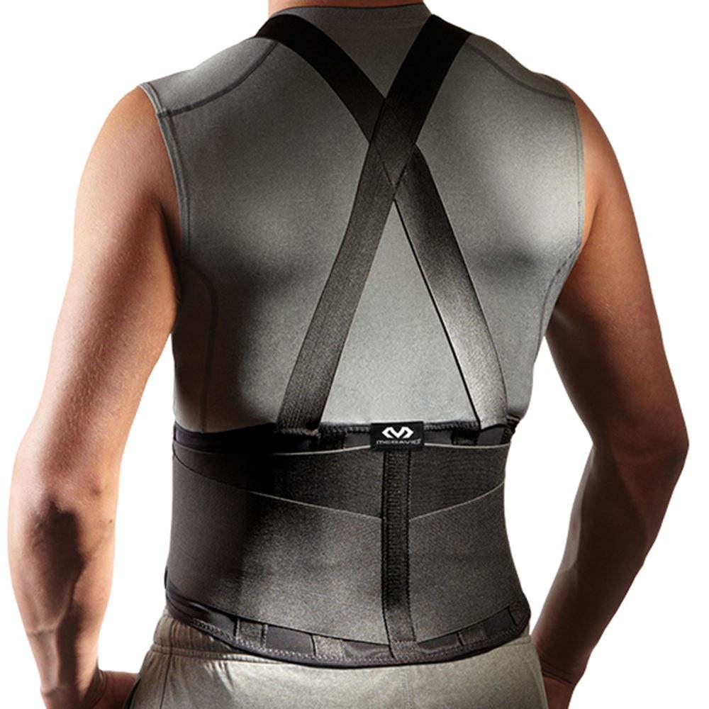 マクダビッド McDavid ユニセックス フィットネス・トレーニング サポーター【Lightweight Back Support With Suspenders】