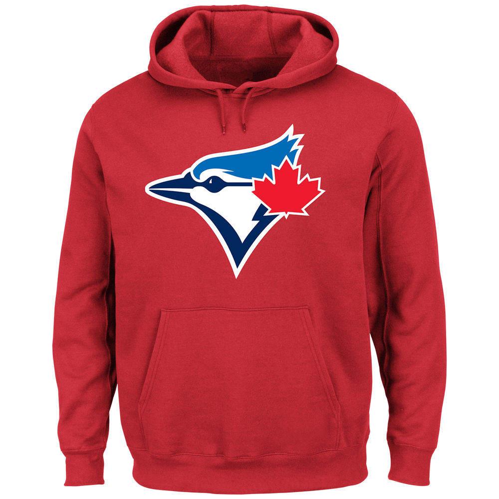 マジェスティック Majestic メンズ トップス パーカー【Toronto Blue Jays Adult Scoring Position Hoodie】Red